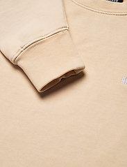 HAN Kjøbenhavn - Bulky Crew - sweatshirts - beige logo - 2