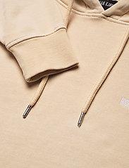 HAN Kjøbenhavn - Bulky Hoodie - hoodies - beige logo - 2