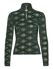 Half Zip Long Sleeve - GREEN