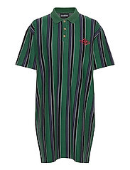 Polo Dress - FADED GREEN