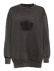 Relaxed Crew - FADED DARK GREY