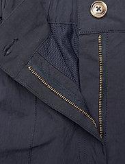 HAN Kjøbenhavn - Cargo Pants - raka byxor - dusty navy - 2