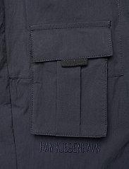 HAN Kjøbenhavn - Cargo Pants - raka byxor - dusty navy - 4