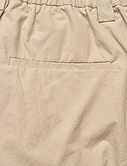 HAN Kjøbenhavn - Cargo Track Pants - raka byxor - off white - 5