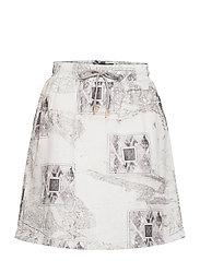 Track Skirt - BLEACH DIAMOND