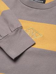 HAN Kjøbenhavn - Boxy LS Tee - sweatshirts - faded tan stripe - 2