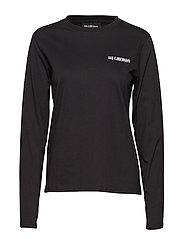Casual Long Sleeve Tee - BLACK LOGO