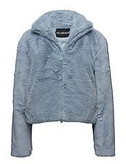 Fur Jacket - LIGHT BLUE