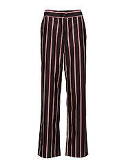 Suited Pants - BLACK STRIPE