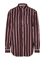 Drop Shirt - BLACK STRIPE