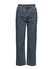 Cropped Jeans - HEAVY STONE WASH