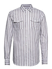 Garden Shirt - TRIPLE STRIPE
