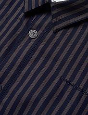 HAN Kjøbenhavn - Shirt Jacket - tops - navy stripe - 2