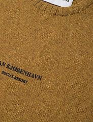 HAN Kjøbenhavn - Bulky Knit Mustard - basic gebreide truien - mustard - 2