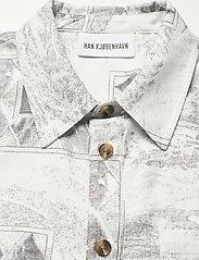 HAN Kjøbenhavn - Boxy Shirt SS - overhemden korte mouwen - bleach diamond - 5
