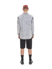 HAN Kjøbenhavn - Army Shirt - tops - grey - 4