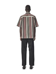 HAN Kjøbenhavn - Boxy Shirt SS - overhemden korte mouwen - grey - 3