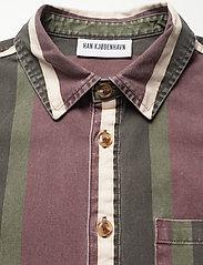 HAN Kjøbenhavn - Boxy Shirt SS - overhemden korte mouwen - grey - 2