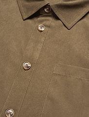 HAN Kjøbenhavn - Boxy Shirt SS - basic overhemden - grey - 6