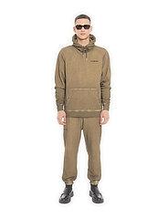 HAN Kjøbenhavn - Casual Hoodie - basic sweatshirts - green crush - 0