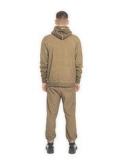 HAN Kjøbenhavn - Casual Hoodie - basic sweatshirts - green crush - 4