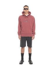 HAN Kjøbenhavn - Bulky Hoodie - hoodies - faded dark red hk - 0