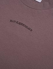 HAN Kjøbenhavn - Boxy Tee - faded brown - 2