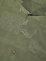 HAN Kjøbenhavn - Summer Shirt - overhemden korte mouwen - green tribal - 3
