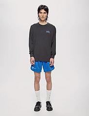 HAN Kjøbenhavn - Boxy LS Tee - basic t-shirts - faded black - 0