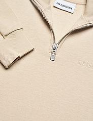 HAN Kjøbenhavn - Half Zip Sweat - basic sweatshirts - sand - 2