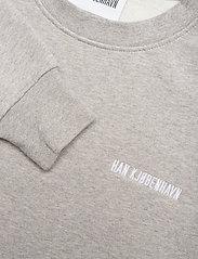 HAN Kjøbenhavn - Casual Crew - basic sweatshirts - grey logo - 4