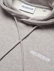 HAN Kjøbenhavn - Casual Hoodie - hoodies - grey melange - 4