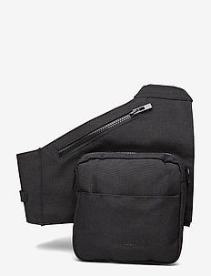 Triangle Bag - tassen - black cordura nylon