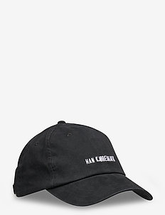 Cotton Cap - petten - black logo