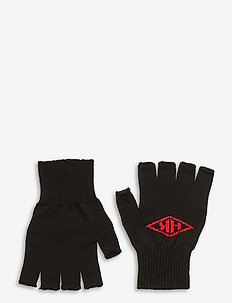 Finger Gloves - handschoenen - black