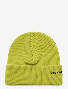 Beanie Logo - bonnets & casquettes - lime
