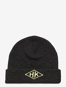 Top Beanie - bonnet - black melange