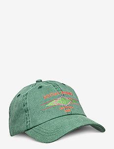 Cotton Cap - kappen - faded green