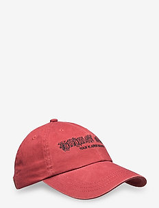 Artwork Cap - petten - faded red