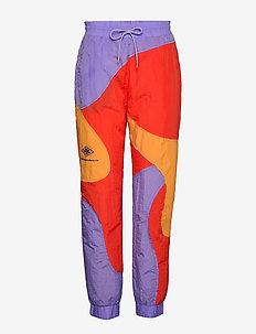 Track Curve Pants - sweatpants - multi colour nylon