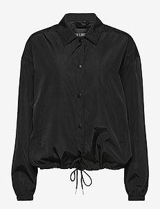 Coach Jacket - lichte jassen - black nylon