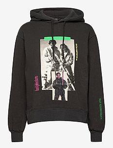 Bulky Hoodie - hoodies - faded black