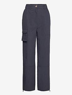 Cargo Pants - broeken med straight ben - dusty navy