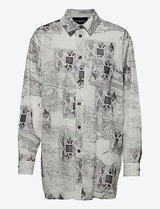 Boyfriend Shirt - overshirts - bleach diamond