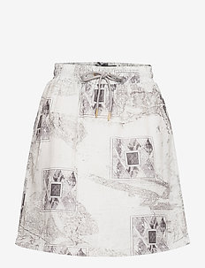 Track Skirt - korta kjolar - bleach diamond