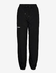 Track Pants - joggings - black nylon