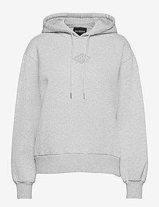 Bulky Hoodie - hoodies - grey melange
