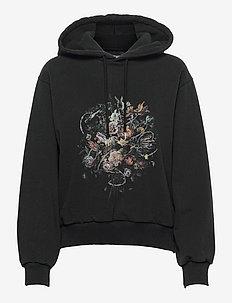 Bulky Hoodie - sweatshirts & hættetrøjer - faded black