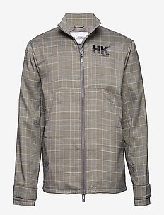 Combat Jacket - tunna jackor - grey tweed