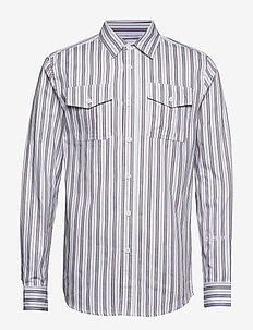 Garden Shirt - casual skjortor - triple stripe